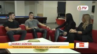 GSTV | Güzel Oyun'da Nazlı Öztürk ve Serem Tan'ın Konukları Koray Günter ve Sinan Gümüş
