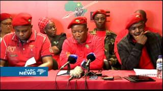 EEF fully and unapologetically behind student struggles: Malema