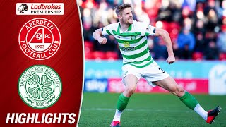 Aberdeen 1-2 Celtic | Late Ajer Goal Seals it for the Celts | Ladbrokes Premiership