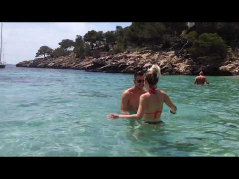 イビザ島ヌーディストビーチPart2 (Ibiza Nudists beach)