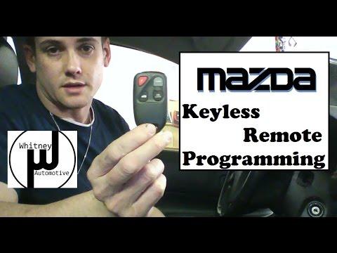 Mazda Remote Program How To, Mazda 3, Mazda 6, RX8, Miata ...