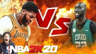 NBA 2K20 7'7 TACKO FALL VS ANTHONY DAVIS!! INSANE GAME