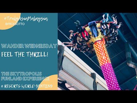 Genting Highlands Skytropolis Funland Indoor Theme Park at Resorts World Genting | Thrill Rides