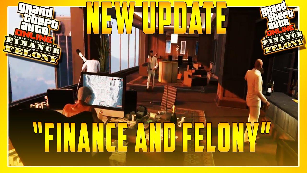 GTA 5 DLC UPDATE - `FINANCE & FELONY` SPENDING SPREE WITH FRIENDS (GTA 5  New Update)