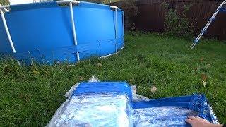 Теперь Всегда Теплая вода в Бассейне Кристально чисто с дешевым средством Каркасный Бассейн