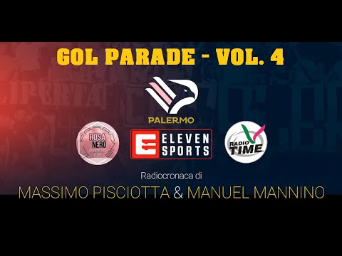 GOL PARADE PALERMO Vol.4 - Radiocronaca di Radio Time - SerieD
