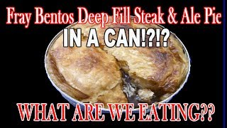 Fray Bentos Deep Fill Steak & Ale Pie - WHAT ARE WE EATING?? - The Wolfe Pit