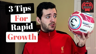 Soccer Tips - 3 Ways To Improve At Soccer Fast