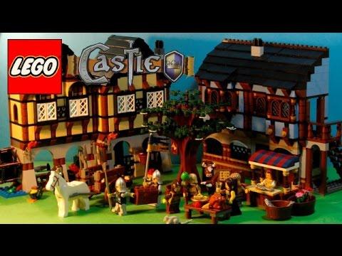 Lego Castle 10193 - Medieval Market Village [HARD TO FIND][1601 ...