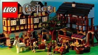 lego castle 10193 medieval market village hard to find 1601 pieces