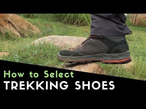 Types of #Trekking #Shoes - India