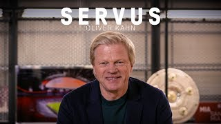 Goalkeeping legend, Expert, Member of the board | Servus, Oliver Kahn | FC Bayern