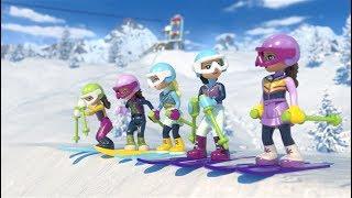 An awesome Ski day –  LEGO Friends Mini Movie