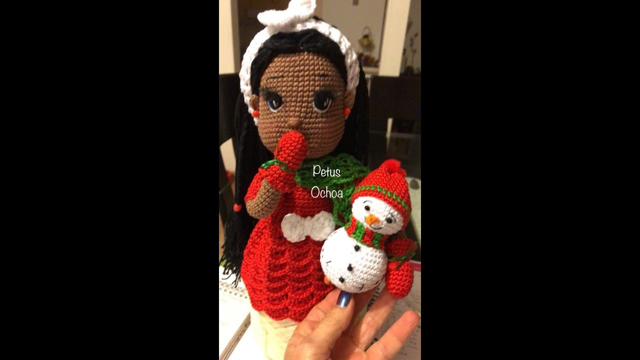 Como tejer suéter de mini Carolina amigurumis By Petus - YouTube ... | 720x1280