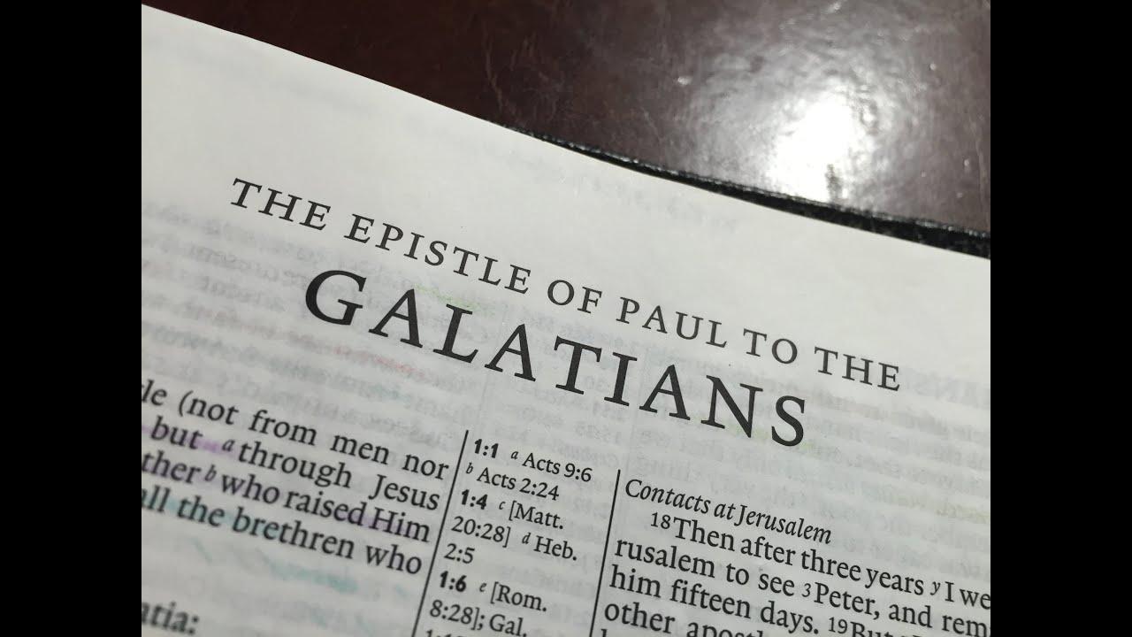 Understanding Galatians Hebraically in 23 Minutes