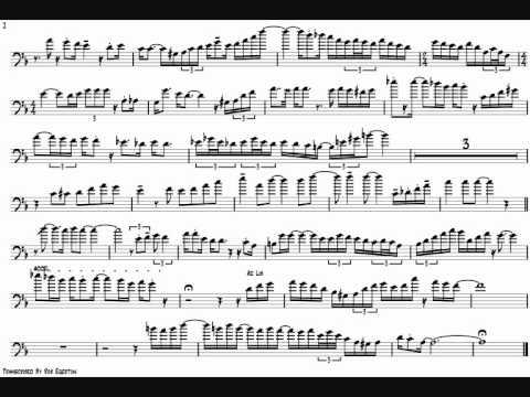 Frank Rosolino 'I Got It Bad' Trombone Solo Transcription