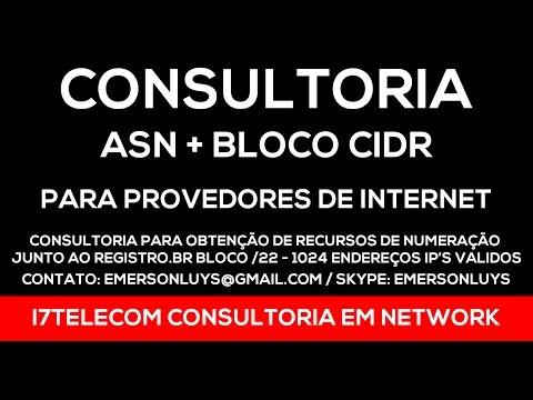 Consultoria ASN Bloco de IPs Validos