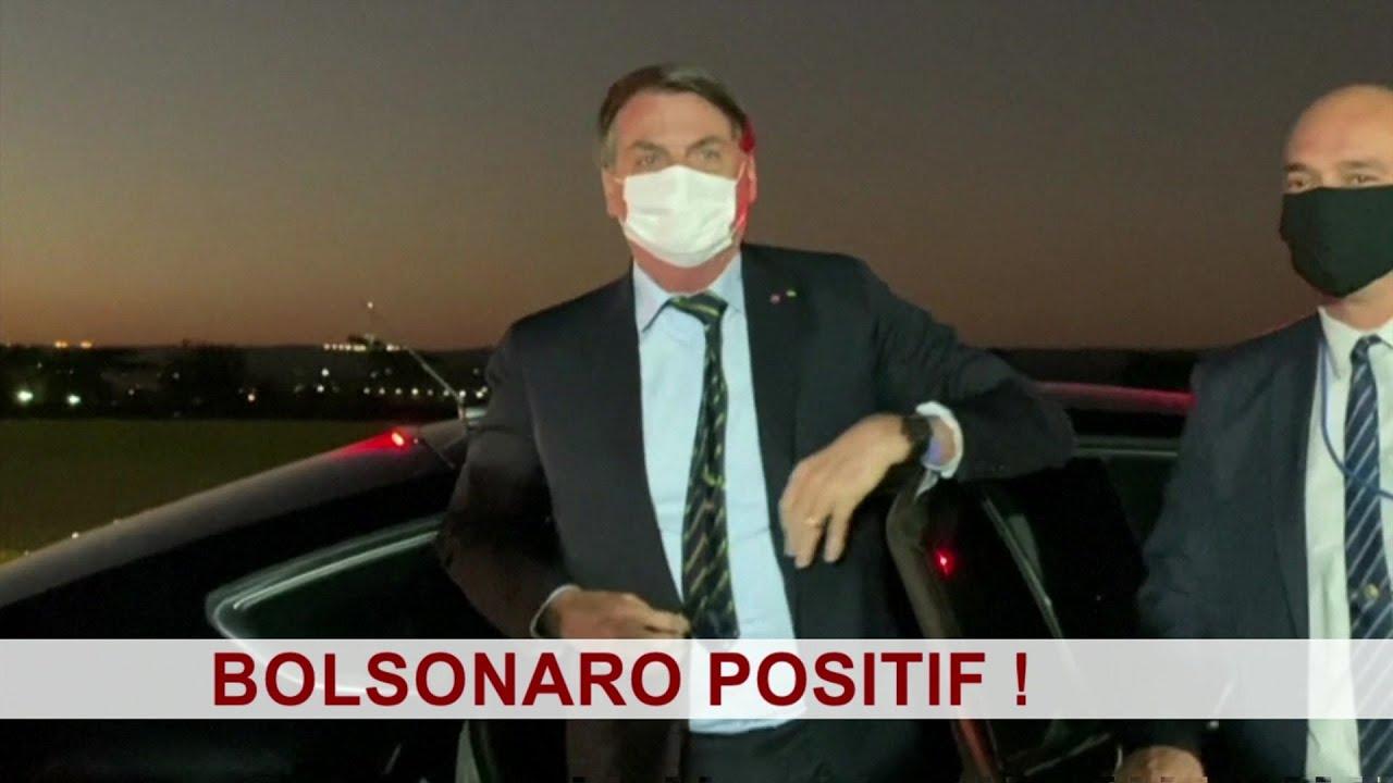 Bolsonaro testé positif au Coronavirus ! - BBC Infos 07/07/2020