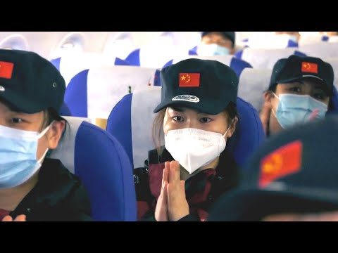 Touching Moment | Medical teams return home with Wuhan in their hearts