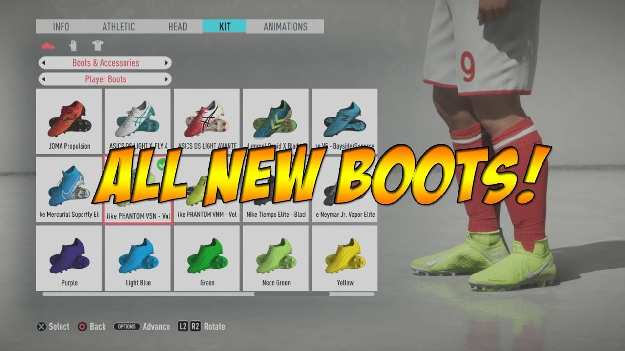 Here Is Why FIFA 19 Does Not Feature The Latest Nike Boots