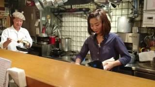 Kichi kichi omurice cooking by chef Motokichi