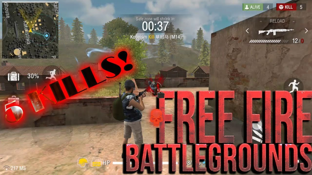 Image result for free fire mobile game picture