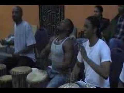 Folade Drum Rehearsal