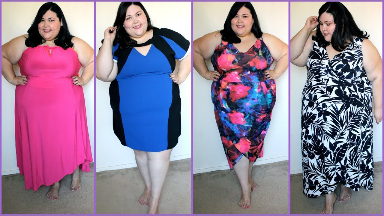 New dress haul plus