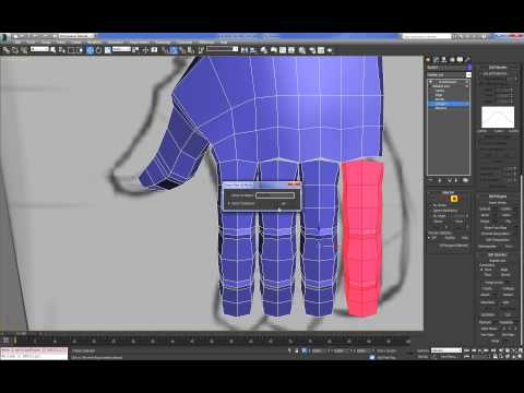 Cartoon Character For Production 3DMax (Modeling : Body) : 01  (05)