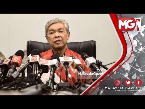 TERKINI : 73 Ketua UMNO Bahagian Menang Tanpa Bertanding  Zahid Hamidi