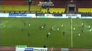 20 russian premier league 本田圭佑 cska moscow vs fk krasnodar 03 04 2011
