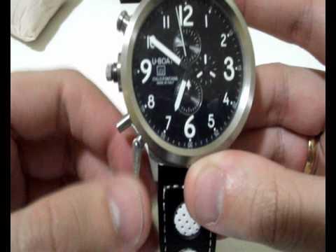fe7b2f94354 Relógio U-boat - Flight Deck - Italo Fontana - YouTube