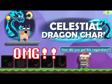 I Made New Legend Dragon Charm Set On Growtopia New Cheap Set Omg Growtopia Youtube