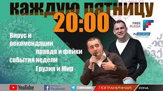 США в Грузии и вирус в России. Карантин Live. Егор Куроптев и Николай Левшиц