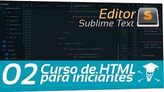 CURSO HTML - PARA INICIANTES - 02 - SUBLIME TEXT 3
