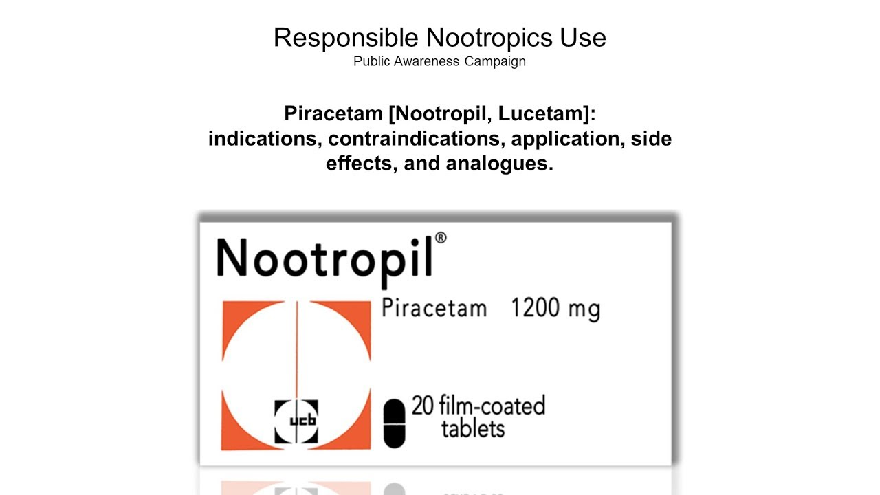 Doctor S Review Of Piracetam Nootropil Youtube