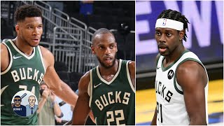 Jalen Rose on what the Bucks' Big 3 needs to do to come back in series 🦌