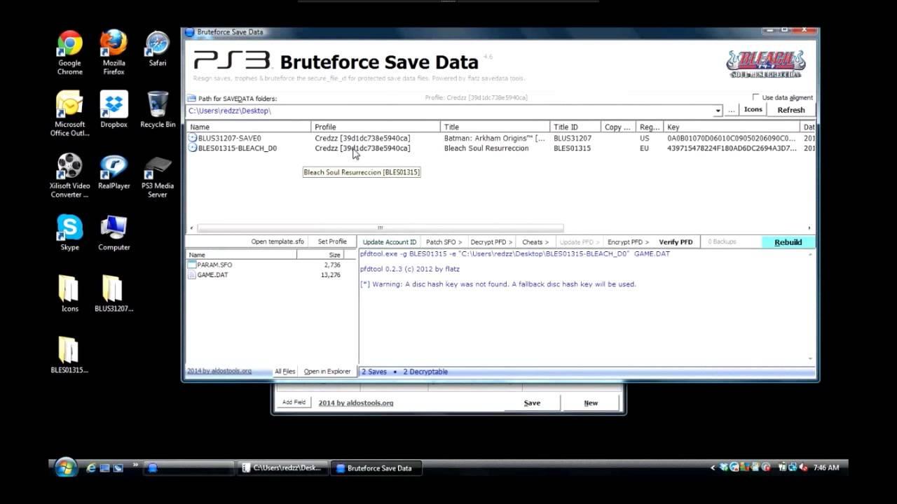 Bruteforce SaveData won't work for me!! Please help! | GBAtemp net