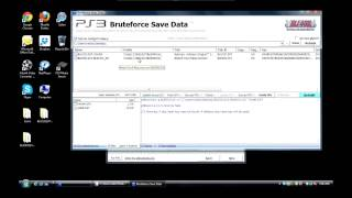 [PS3] BruteForce Savedata 4.6 Tutorial (How to setup & resign saves)