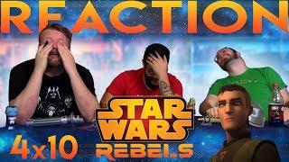 "Star Wars Rebels 4x10 REACTION!! ""Jedi Night"""