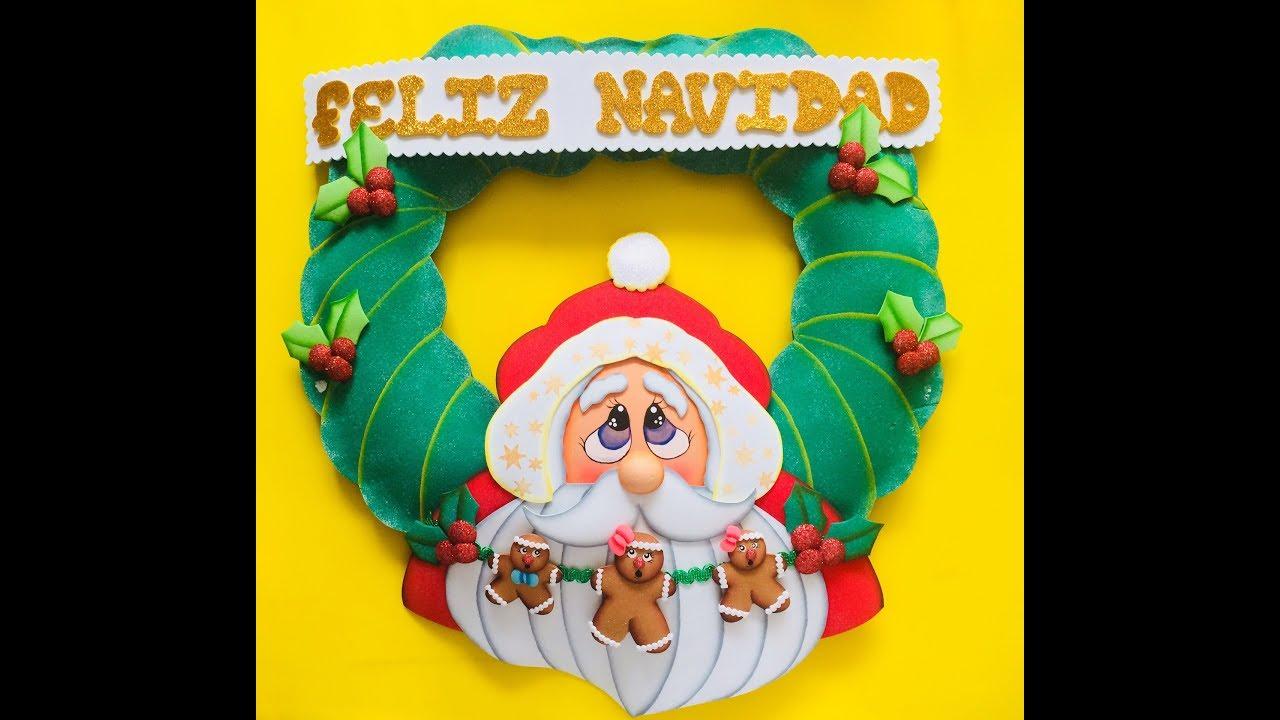 Corona Noel Navideño Paso A Paso Craft Diy Manualidad Navidad En
