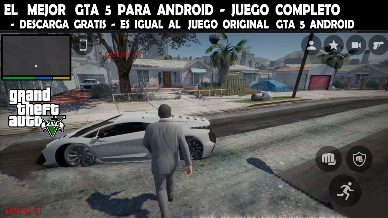descargar gta 5 para android original