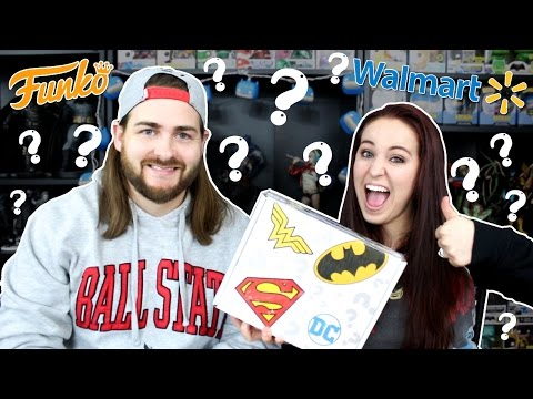 Walmart Mystery DC Funko Box - We Finally Got One!