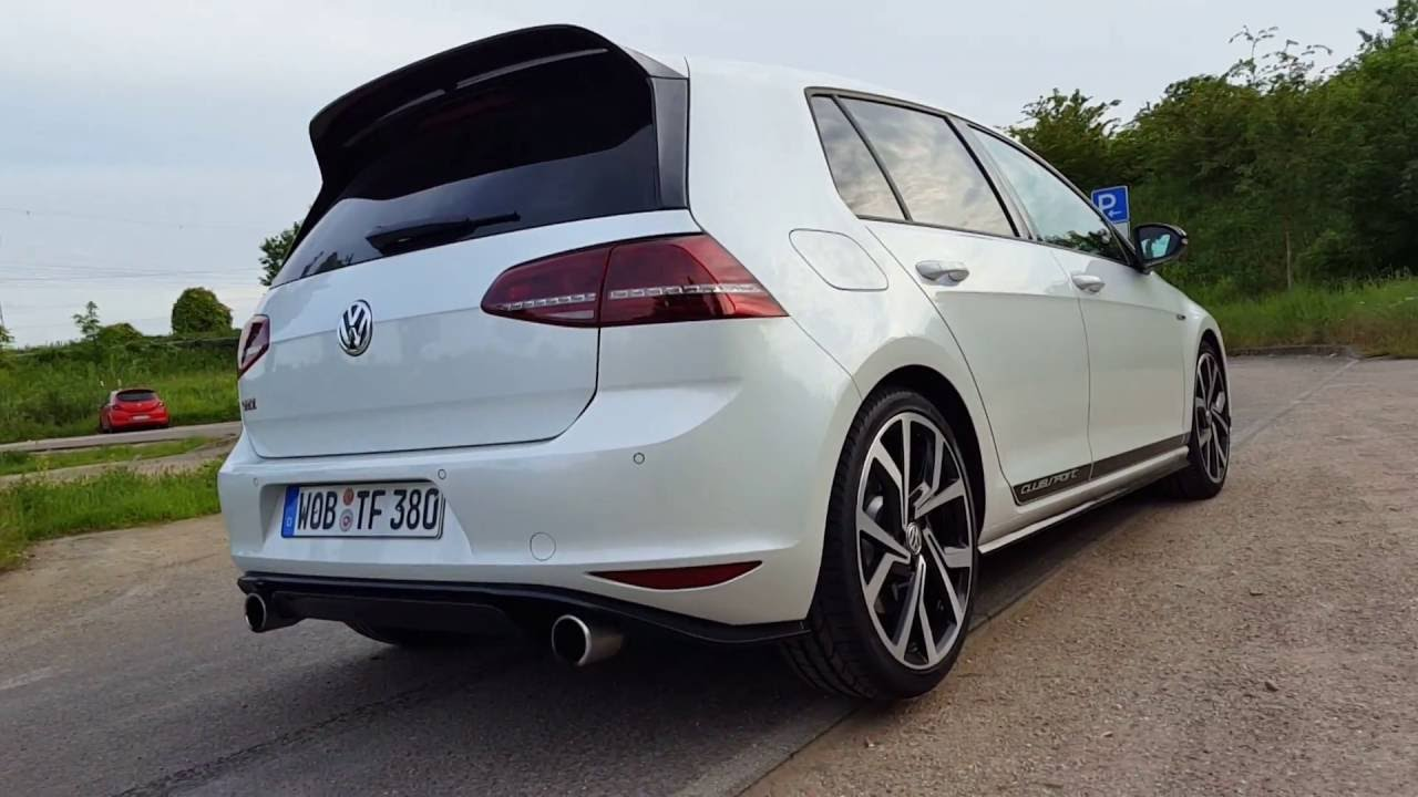 vw golf 7 gti clubsport sound acceleration pov gopro youtube. Black Bedroom Furniture Sets. Home Design Ideas