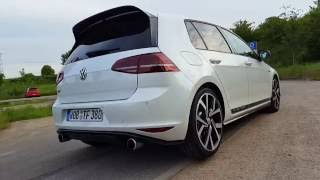 VW Golf 7 GTI Clubsport | Sound & Acceleration | POV | GoPro