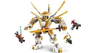 Instrucciones LEGO NINJAGO Robot Dorado 71702