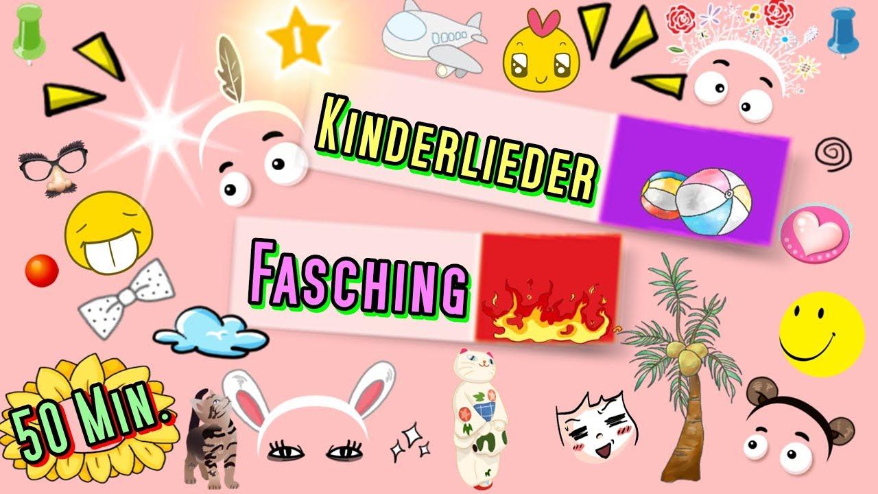Kinderlieder Mix Fasching Lustige Kinderfaschingslieder Zum
