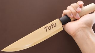 sharpest tofu kitchen knife in the world