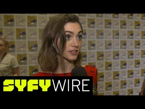 Stranger Things Season 2: Natalia Dyer Previews Nancy's Story   San Diego Comic-Con 2017   SYFY WIRE