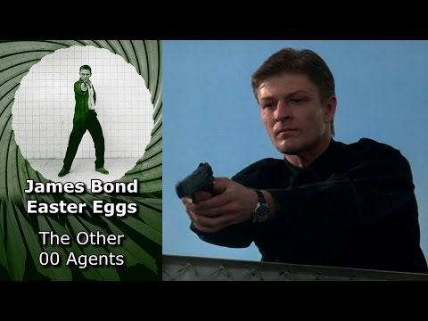 The Other 00 Agents - James Bond Easter Eggs